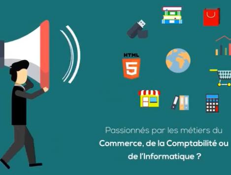 Commerce, Comptabilité & Informatique